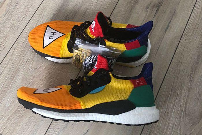 Adidas Pharrell Williams Hu Solar Glide 2