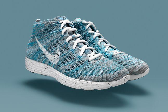 Nike Htm Flyknit Chukka Blue Hero 1