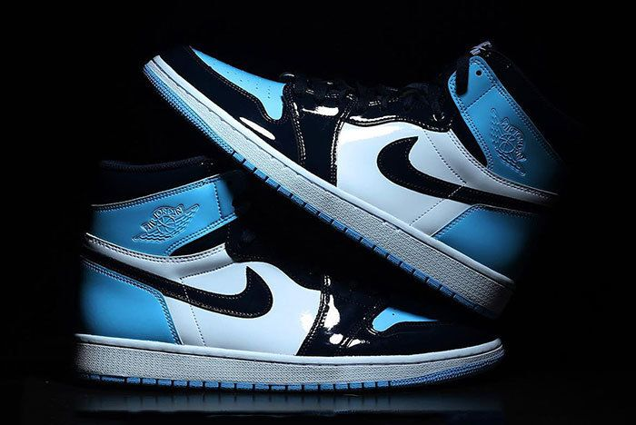 Air Jordan 1 Unc Patent Leather Cd0461 401 1