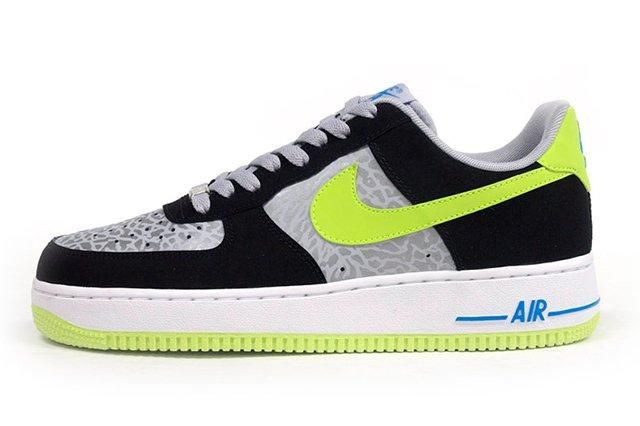 Nike Air Force 1 Reflective Silver Slime