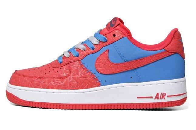 Nike Air Force 1 Le Godzilla Pack Red Blue 1
