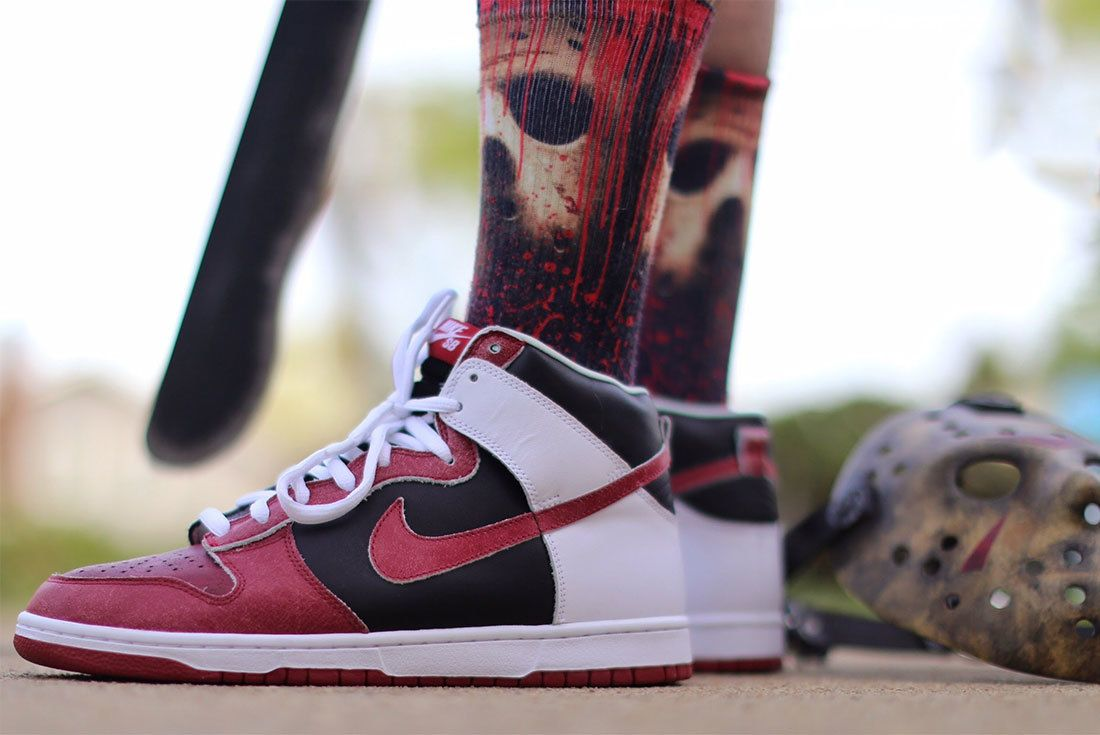 Nike Sb Dunk High Jason Voorhees 2007