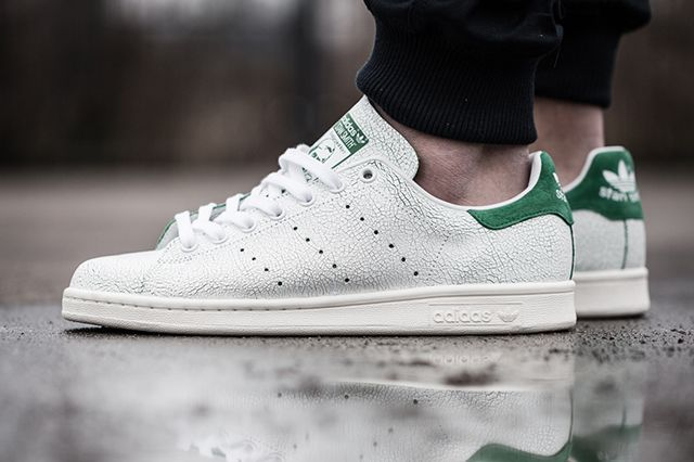Adidas Stan Smith Cracked Leather Bump