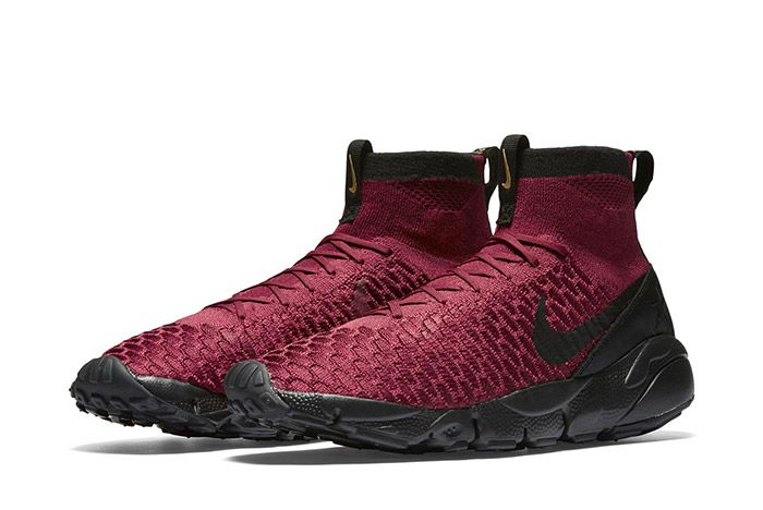 Nike Air Footscape Magista Flyknit Fc Burgundy 3
