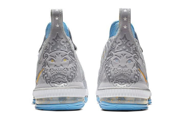 Nike Lebron 16 Mpls Heel Shot