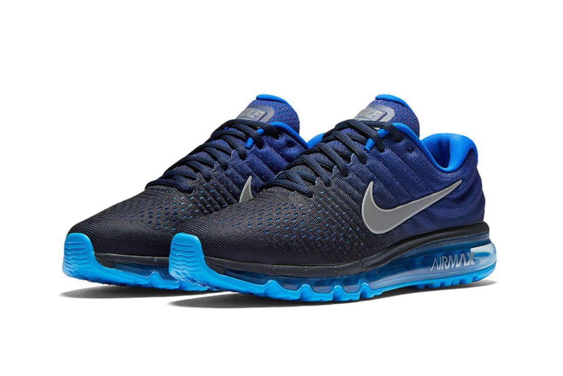Nike Air Max 2017 Black Blue 1