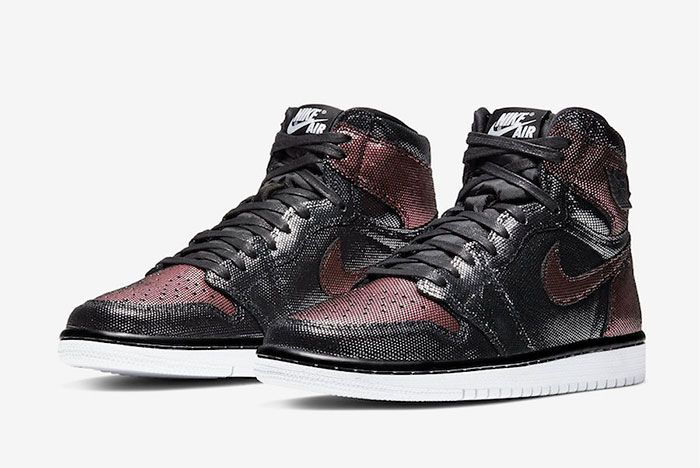 Air Jordan 1 Rose Gold Fearless Toe