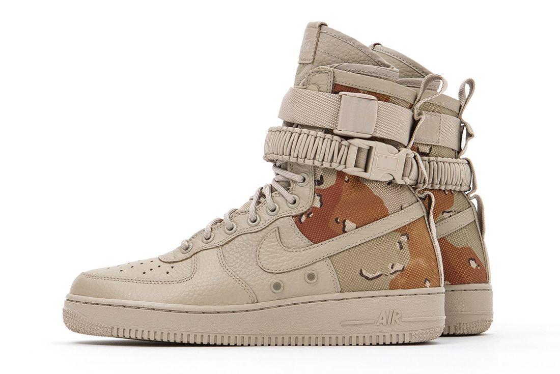 Nike Sf Air Force 1 Desert Camo 4 1
