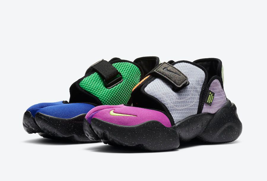 Nike Aqua Rift Concord Green Spark Volt Angled