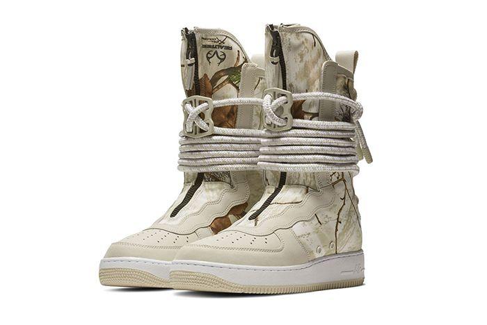 Nike Sf Af1 High Realtree Camo 1