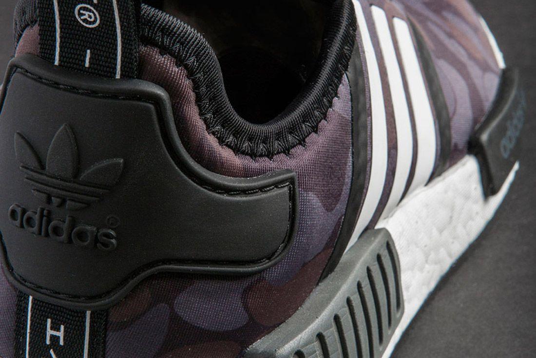 Bape Adidas Nmd 1 St Camo Black 7