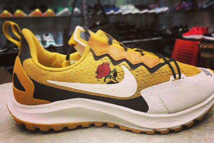 Nike Gyakusou Went The Distance Yellow Lateral
