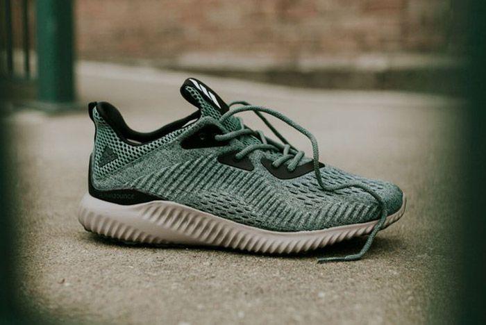 Adidas Alphabounce Trace Green 4