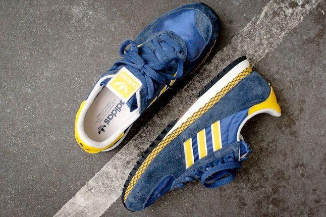 Adidas Originals Marathon Pt Navy Yellow 5
