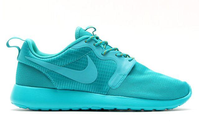 Nike Roshe Run Hyperfuse Turbo Green 1