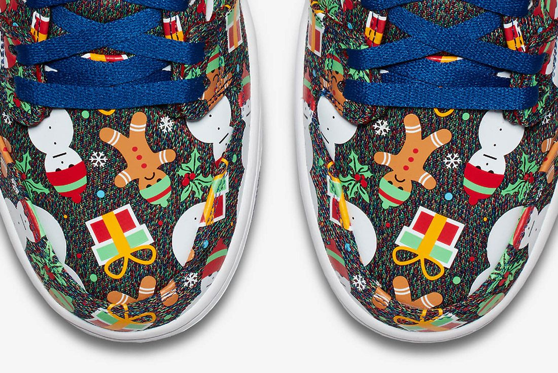 Conceptsnike Sb Ugly Christmas Sweater Dunk 11