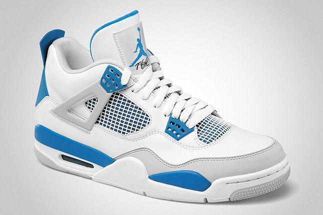 Air Jordan Retro 4 Military Blue 3 1