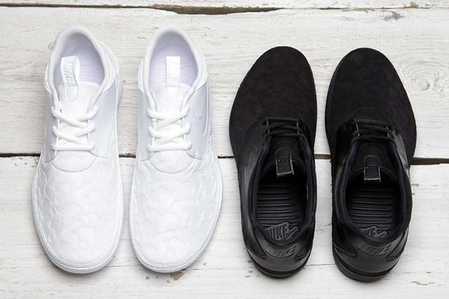Nike Solarsoft Moc Qs Black White Pack 6