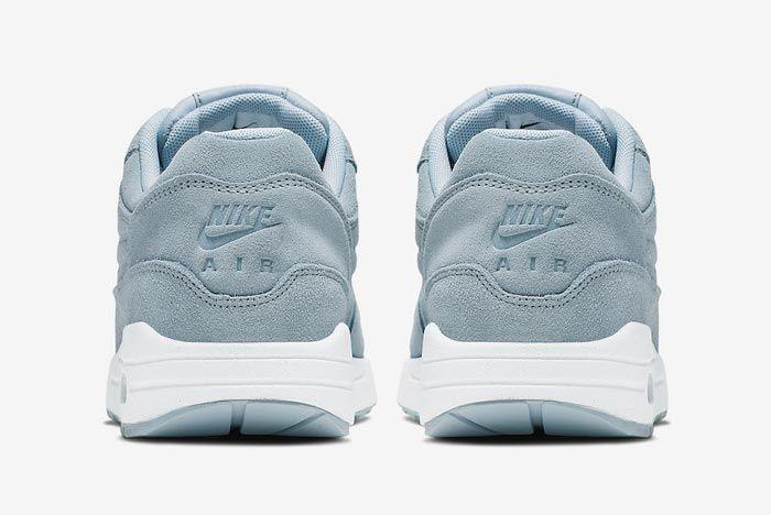 Nike Air Max 1 Turquoise Suede Heels