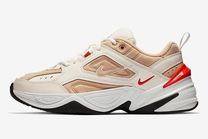 Nike M2 K Tekno Sailhabanero Red 2