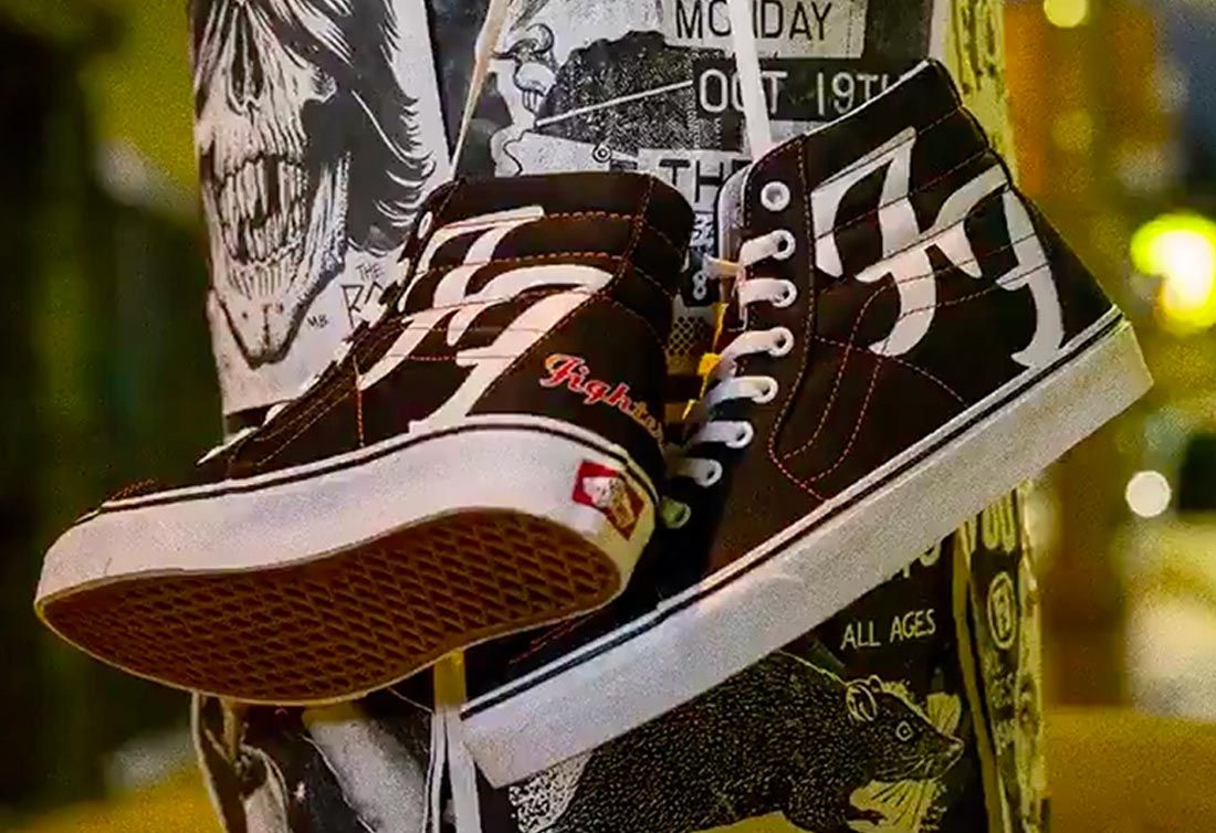 Vans x Foo Fighters Sk8-Hi