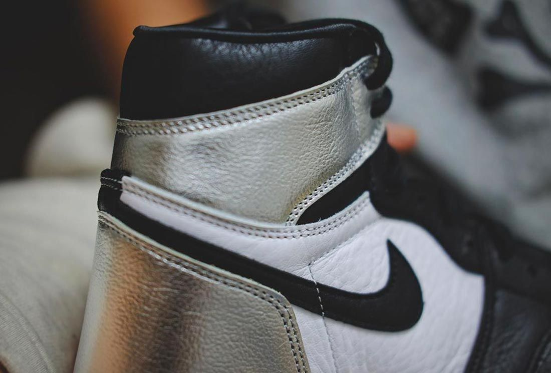 Air Jordan 1 High 'Silver Toe'