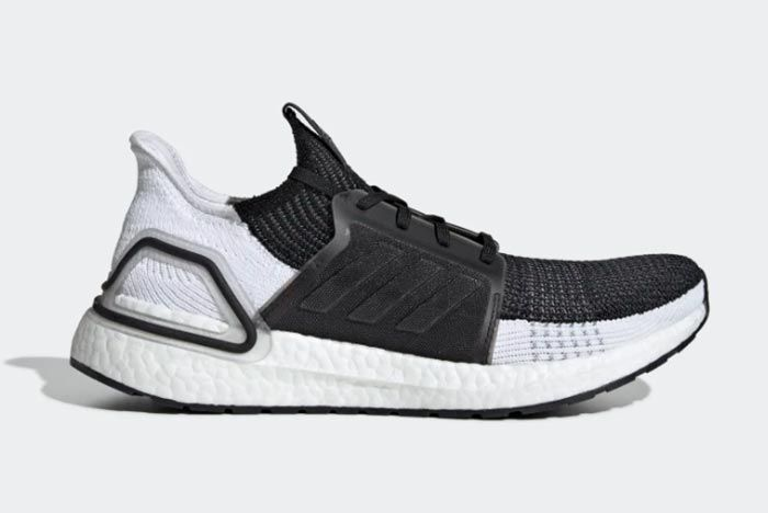 Adidas Ultraboost 19 Core Black Right Side Shot