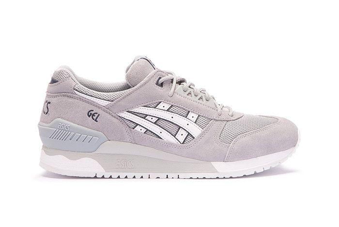 Asics Gel Respector Light Grey White 1