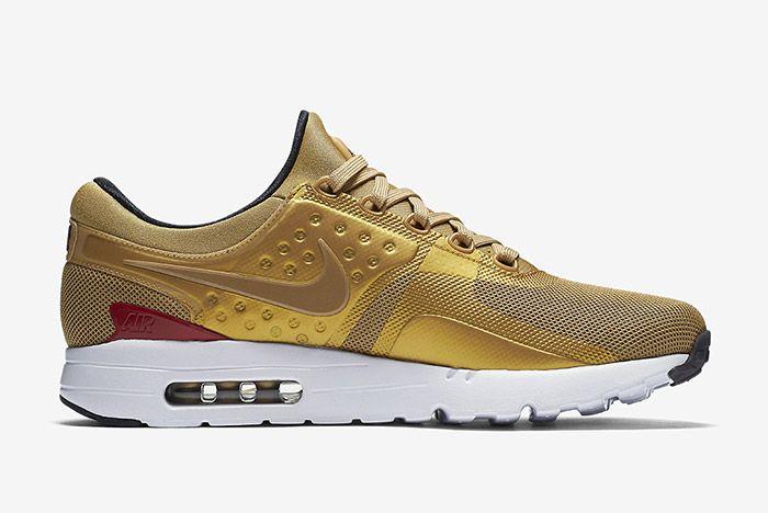 Nike Air Max Zero Metallic Gold 4