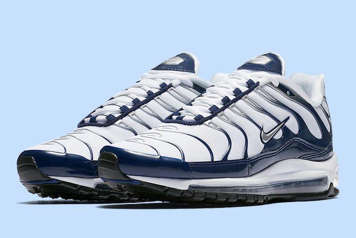 Nike Air Max Plus 97 White Blue 2