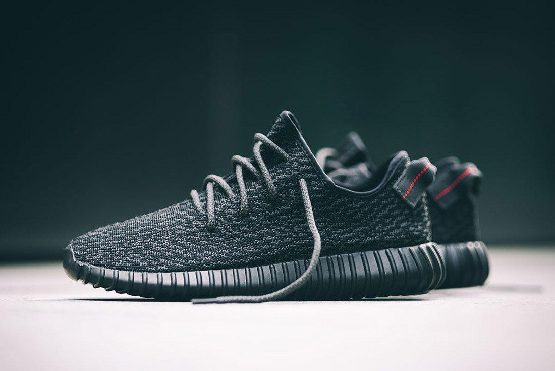 Material Matters History Of Yeezy Adidas Yeezy Boost 350 Black
