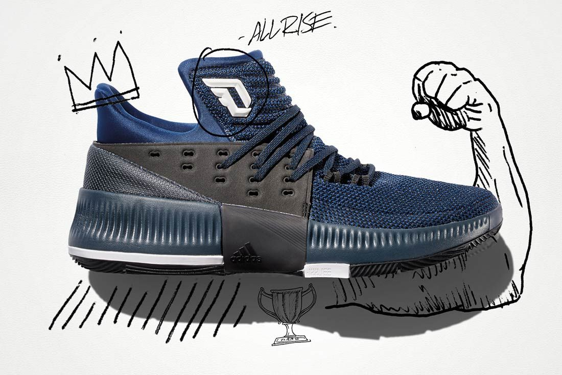 Adidas Dame 3 By Any Means 1