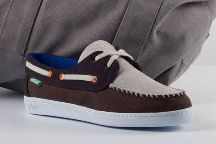 Patta X Keep Benten Boat Shoe Full Front