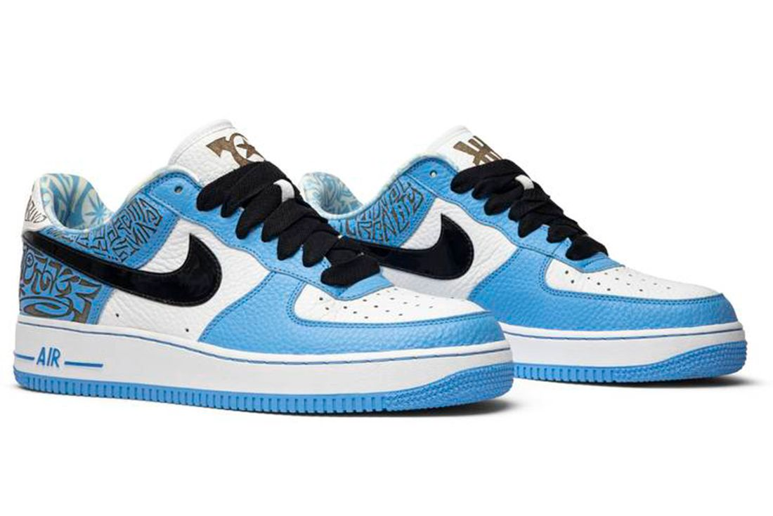 undefeated nike air force 1s
