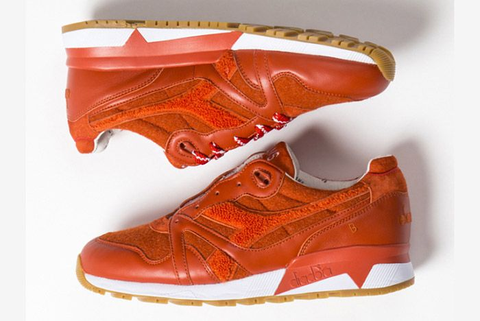 Beams Diadora Diadora N9000 Red Orange 3