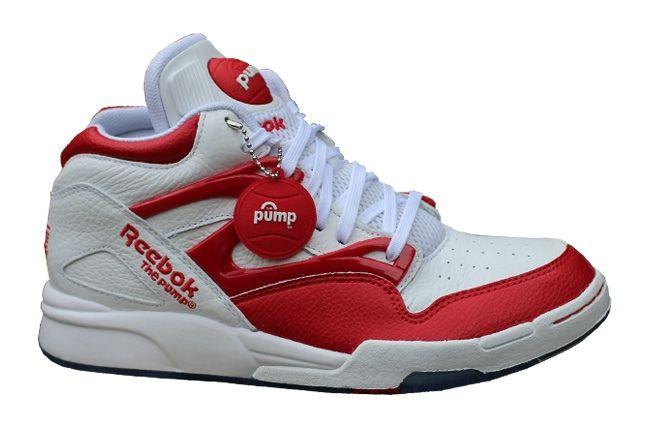 Reebok Pump Omni Lite White Red 5