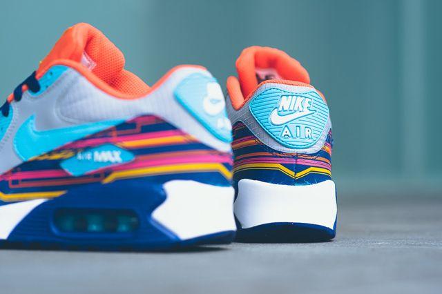 Nike Air Max 90 Prem Mesh Gs 724882 001 Sneaker Politics 2 1024X1024