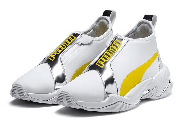 Puma Thunder Tz Metallic Blazing Yellow Pair