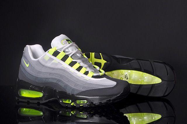 Nike Air Max 95 Premium Tape Qs Neon 3