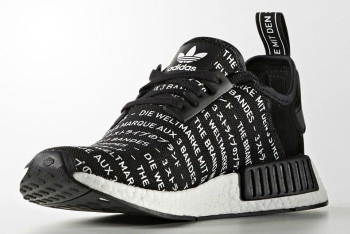 Adidas Nmd Brand With The 3 Stripes Black 1