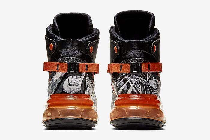 Nike Air Max 720 Saturn March Madness Black Team Orange Ci1959 036 Release Date Heel
