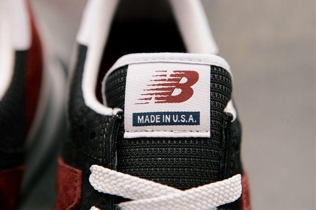 New Balance 990 Black Burgandy 4