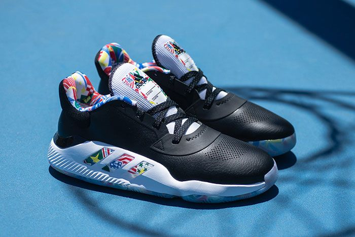 Adidas Fiba Ball Around The World Pro Bounce Low 1