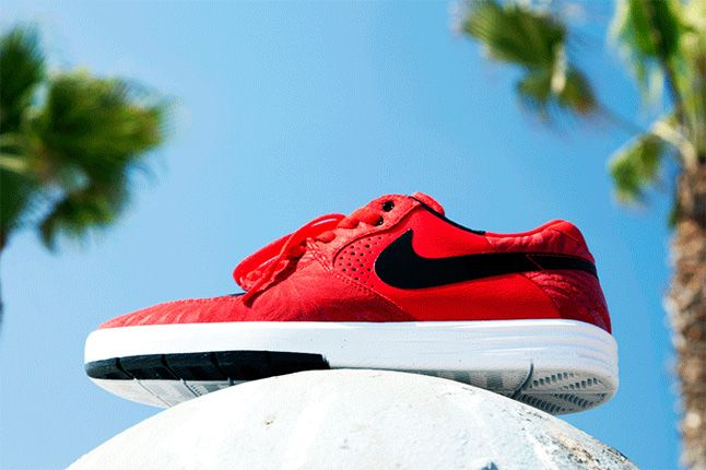Nike Sb Paul Rodriguez 7 2013 Red 1