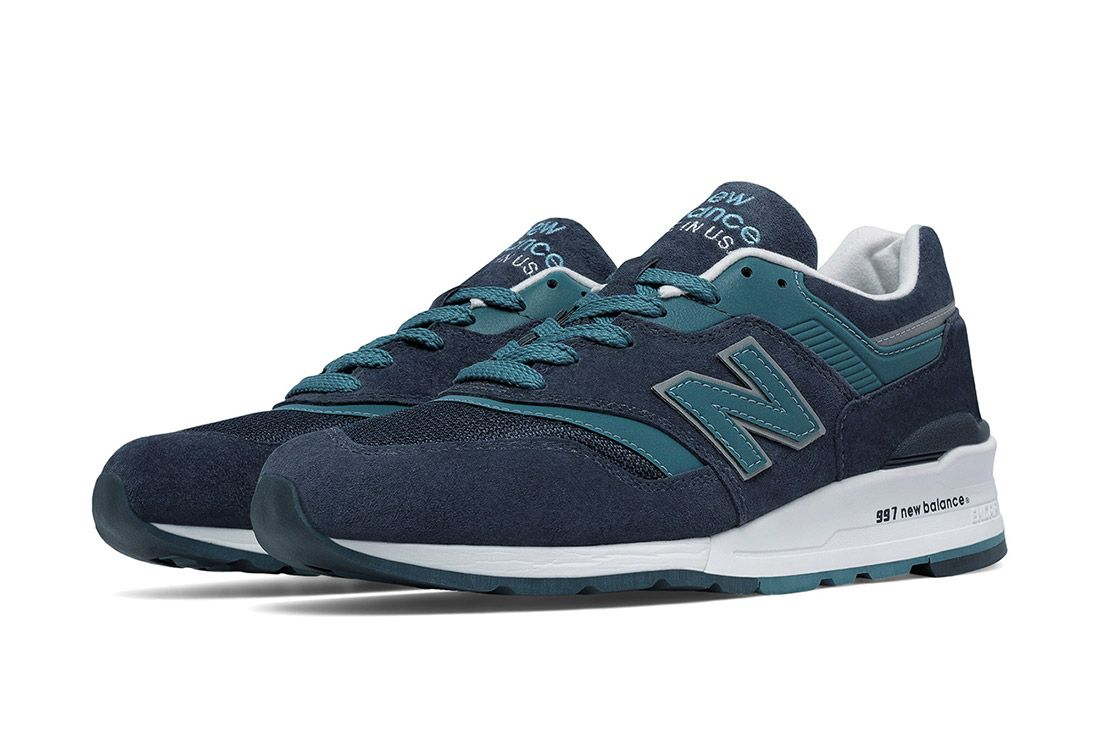 New Balance Made In Usa Connoisseur 997 Blue 1