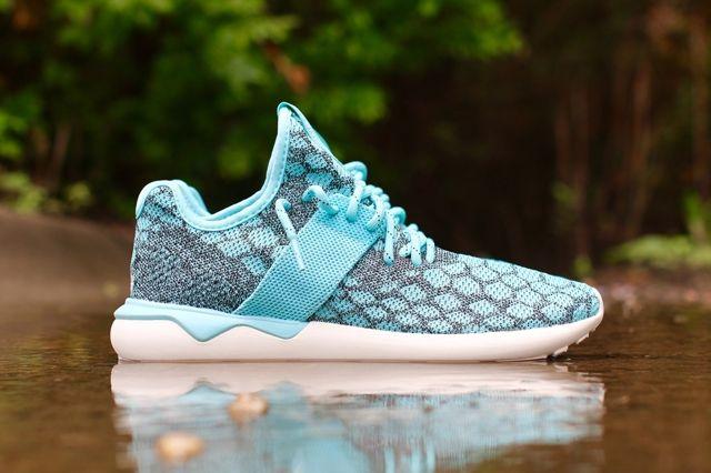 Adidas Tubular Runner Primeknit Blue Spice 1
