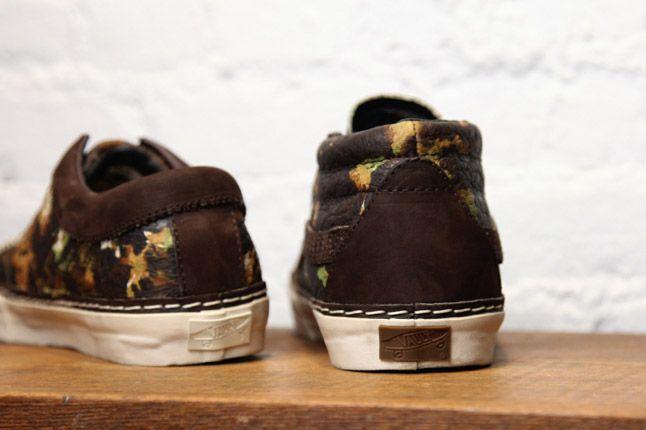 Vans Vault Brushed Camo Pack Heels 1