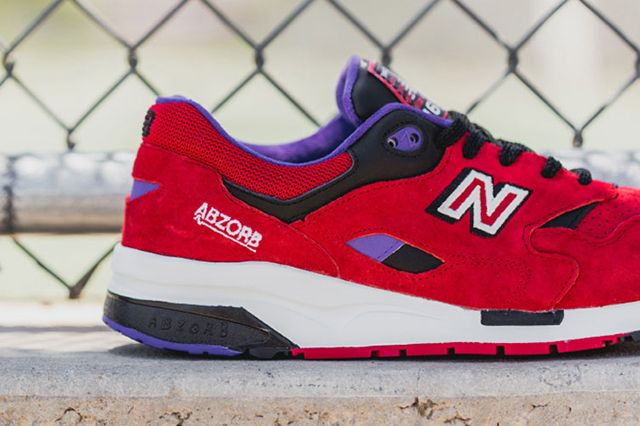 New Balance 1600 Pinball Red 3