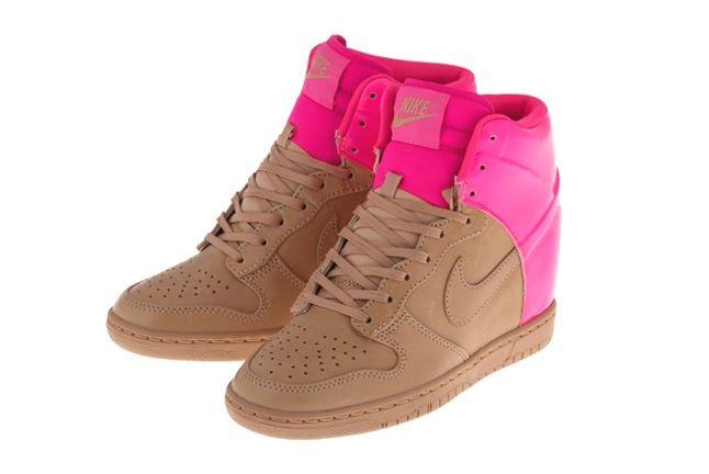 Nike Dunk Sky Hi Vt Vachetta Pink Flash 1
