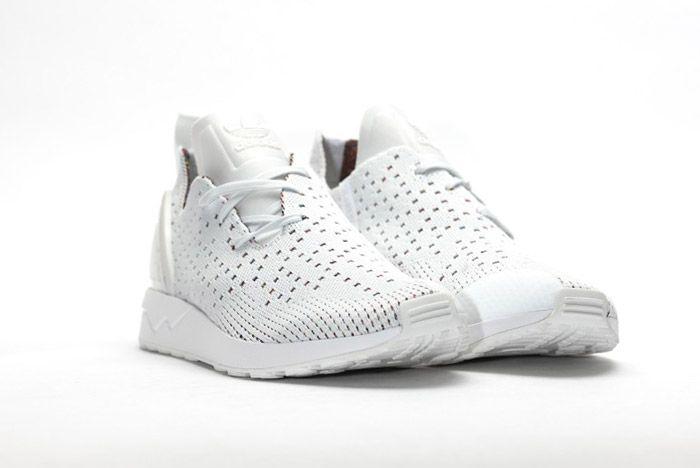 Adidas Zx Flux Adv Asym Crystal White 6